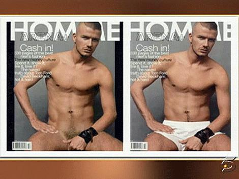 from Dominique is david beckham gay