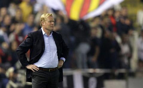 Ronald Koeman, entrenador del Valencia