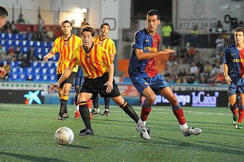 Copa Catalunya: F.C Barcelona vs Espanyol y F.C Barcelona vs Hospitalet