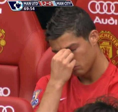 Cristiano Ronaldo Se Enfada Por Un Cambio