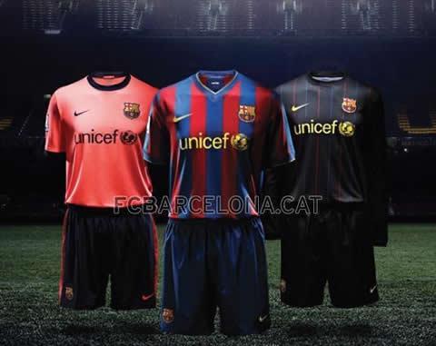 f9ebc0e1e1 El Barcelona ya ha presentado la camiseta que vestirá la próxima temporada.  Nike ha diseñado la segunda equipación de color rosa