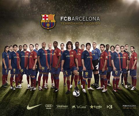 FC Barcelona  Temporada 2008 2009