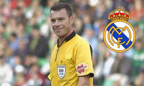 Resultat d'imatges de Real Madrid y su arbitros