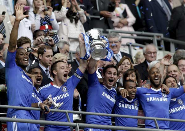 Publicación de Alineaciones Chelsea-copa
