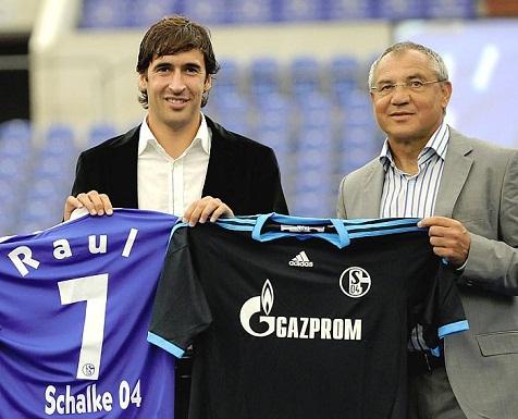 Schalke 2010 - Raul - Bundesliga