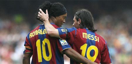 Messi i Ronaldinho