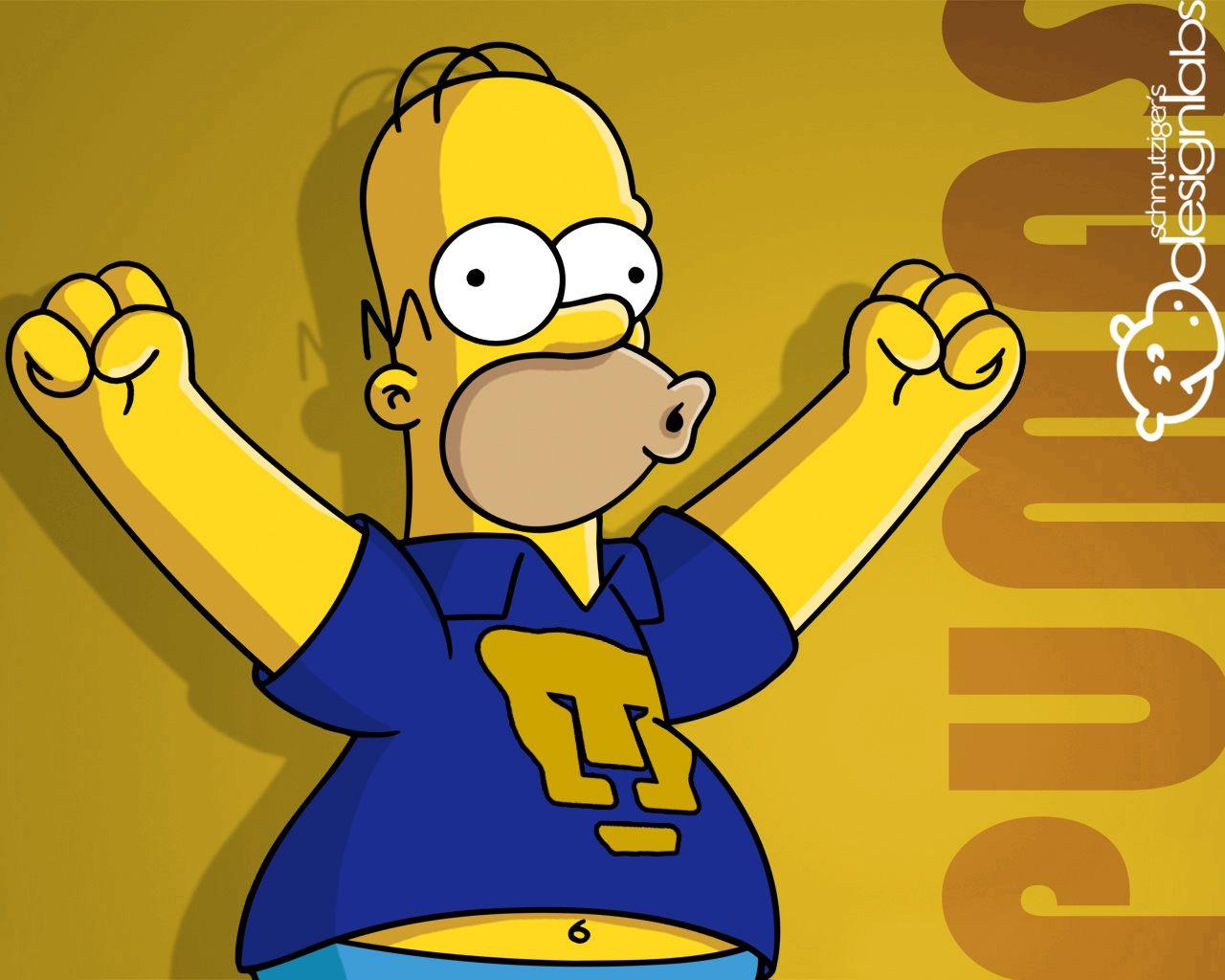 Simpsons De Los Pumas