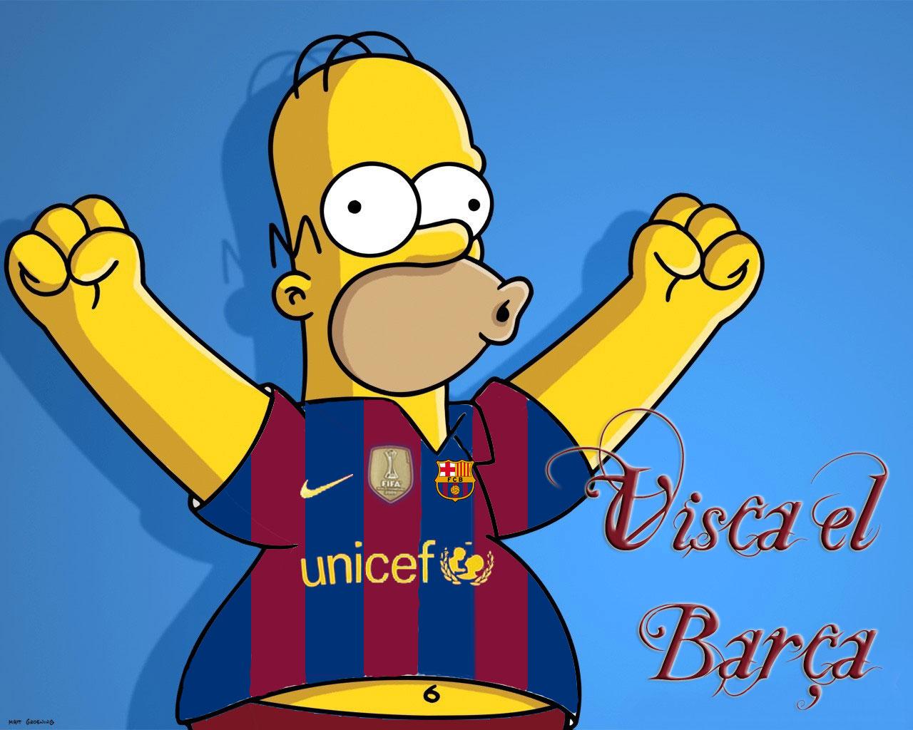 Simpsons Del Barça