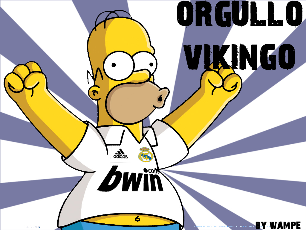 Simpson Es Fan Del Real Madrid No Te Pierdas A Bart Y Homer Simpson