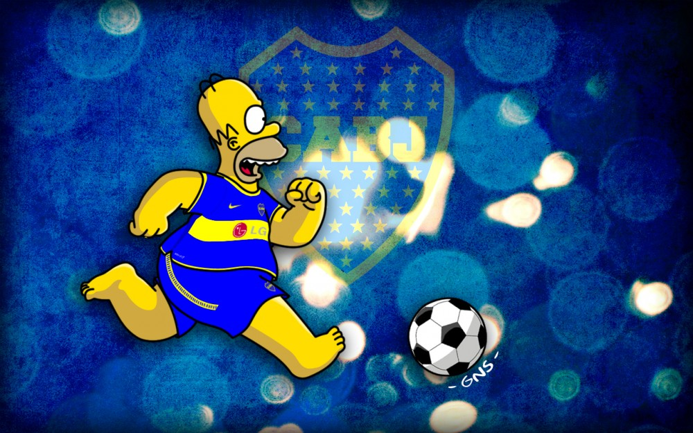 Simpsons De Boca Juniors