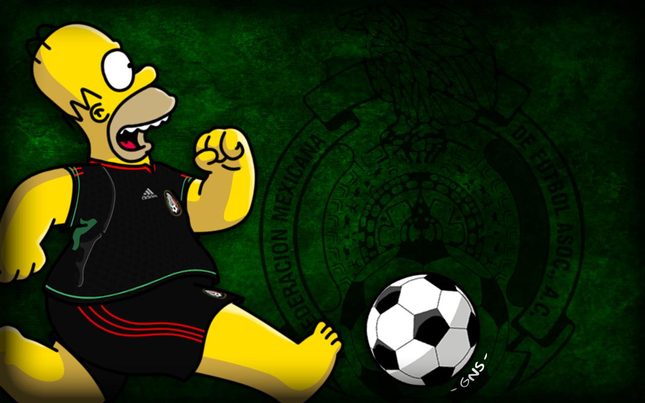 Simpsons De La Selecci  N Mexicana De F  Tbol