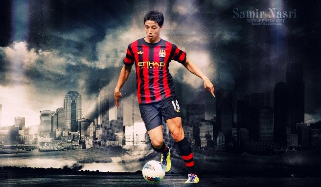 Samir Nasri Manchester City 2014