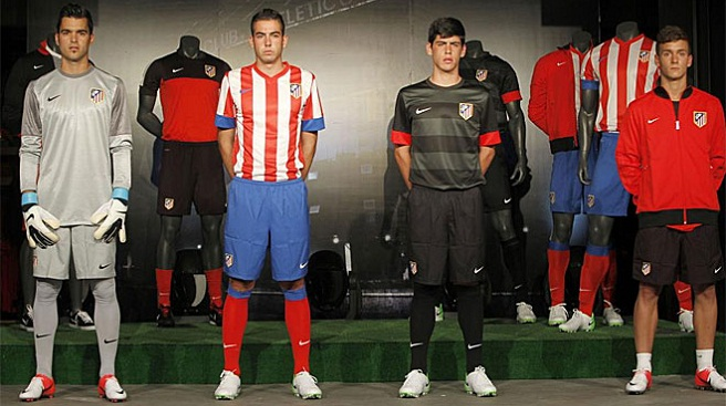 Equipaciones del Atlético de Madrid 2012/2013