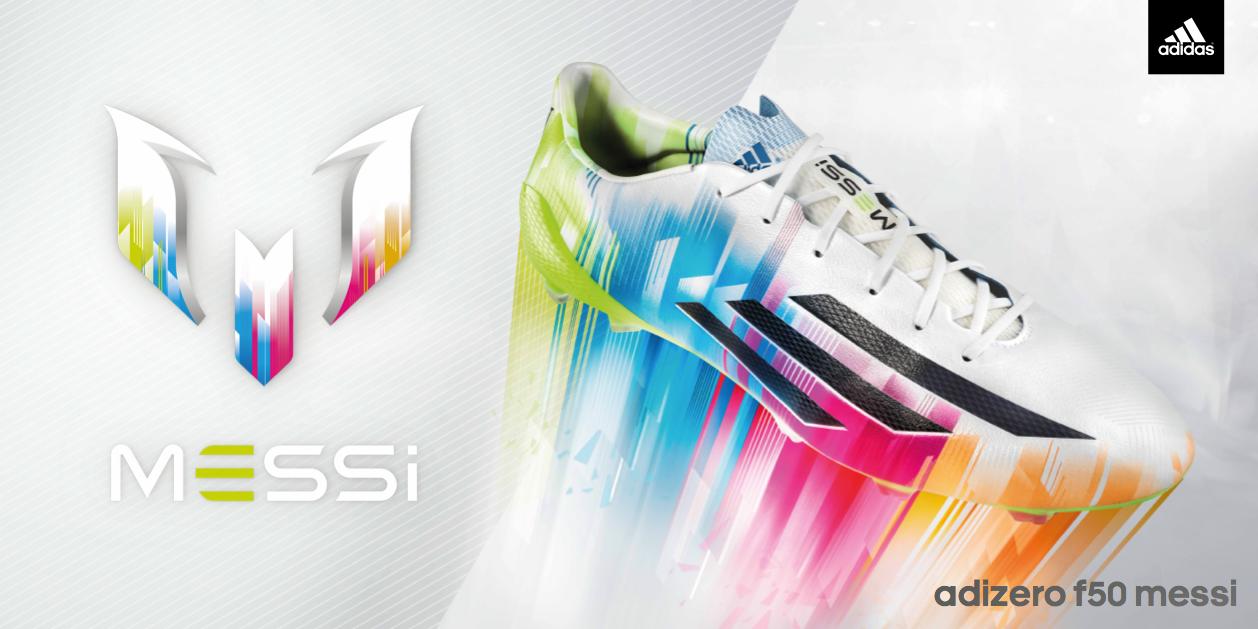 adizero TM F50, las nuevas botas de Messi