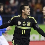 Un gol de Pedro nos da la victoria ante Italia