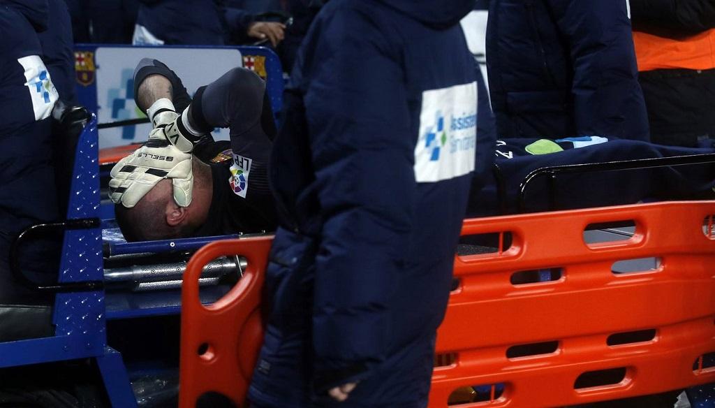 Victor Valdes lesionado