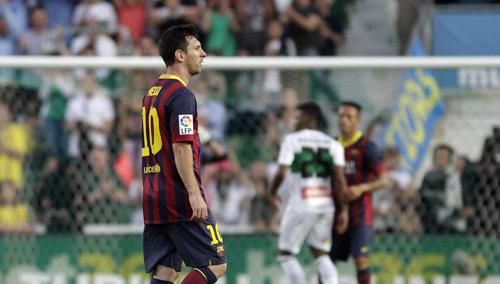 Messi Barcelona Elche