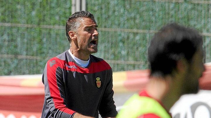 Lluis Carreras entrenamiento Mallorca