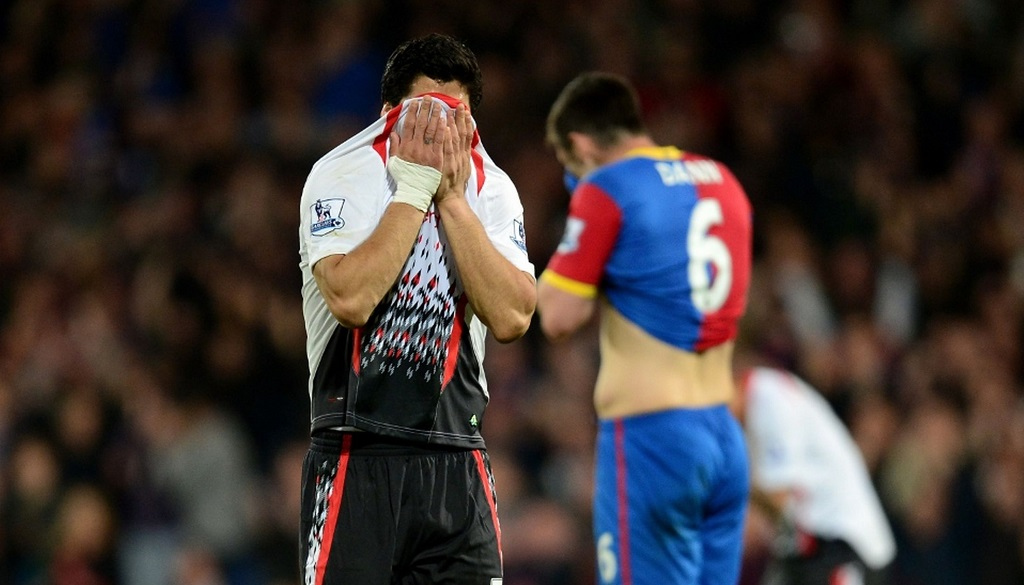 Luis Suarez llorando