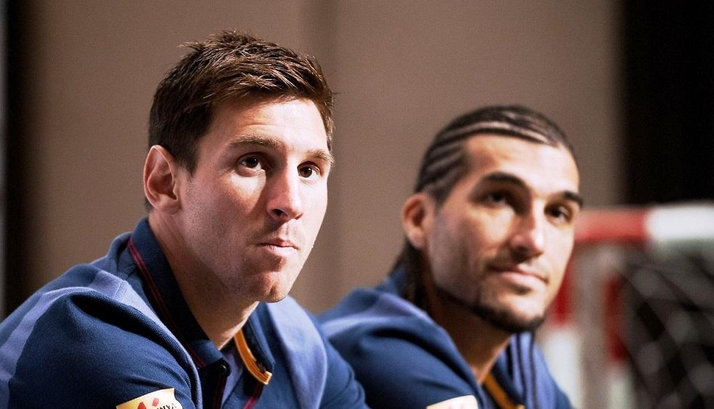 Messi y Pinto