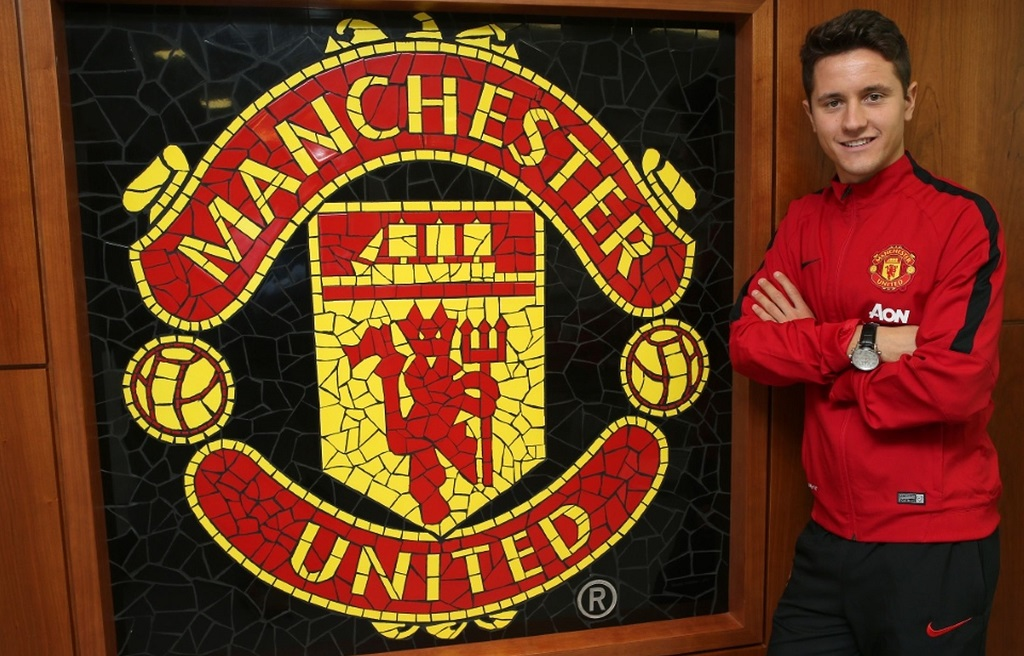 Ander Herrera Manchester United