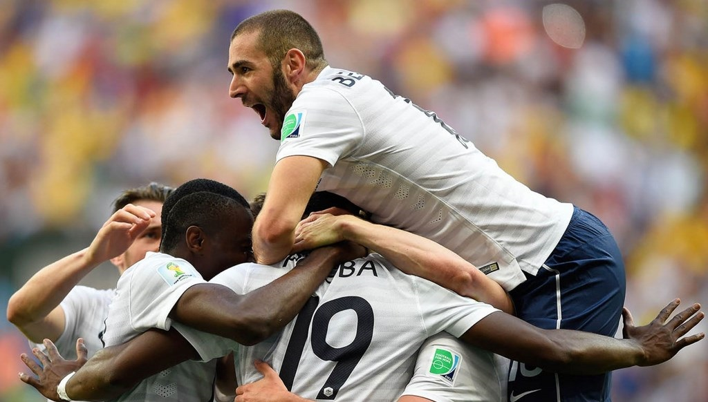Francia celebracion