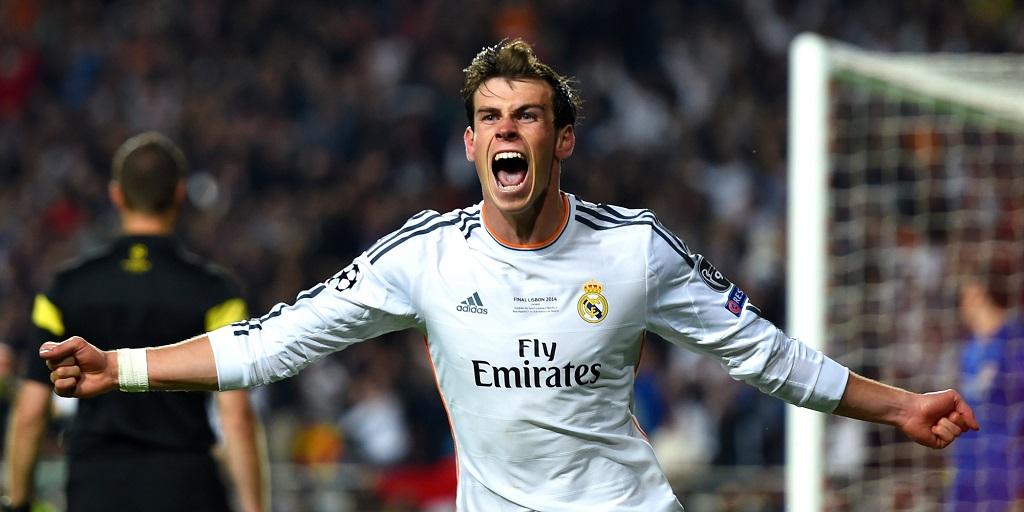 Gareth Bale feliz
