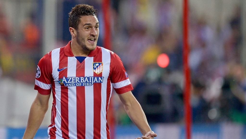 Koke Atletico de Madrid