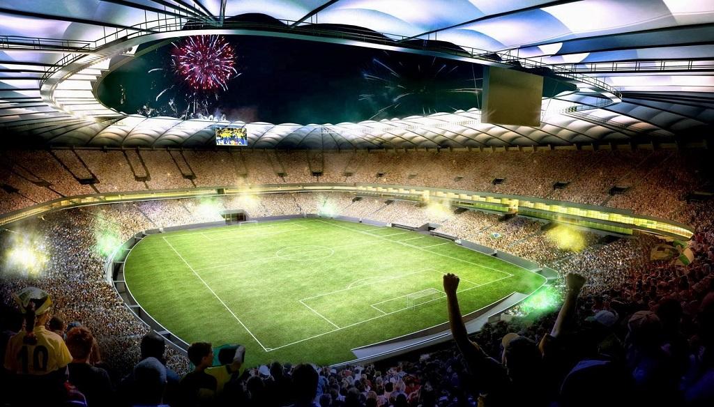 estadio Brasil recreacion