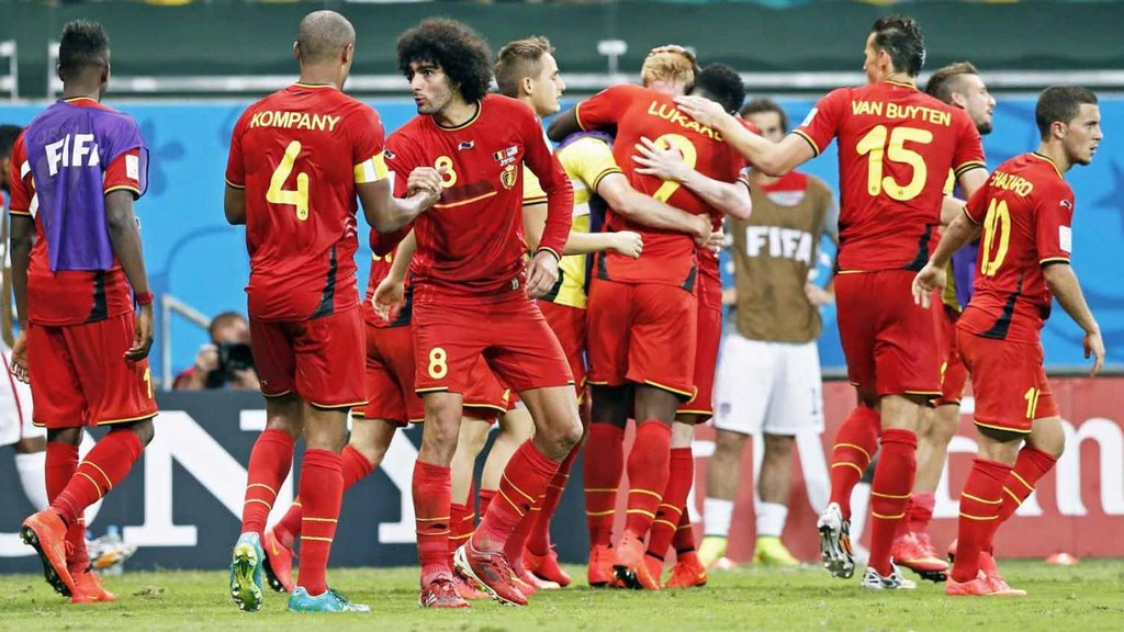Belgica Estados Unidos 5