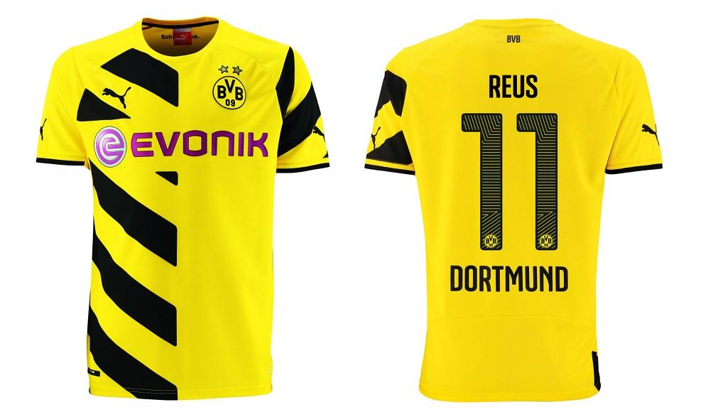 Camiseta Borussia Dortmund 2014-2015 Marco Reus