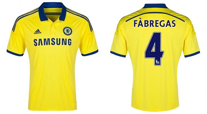 Camiseta amarilla Chelsea