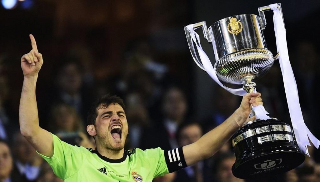 Iker Casillas Copa del Rey