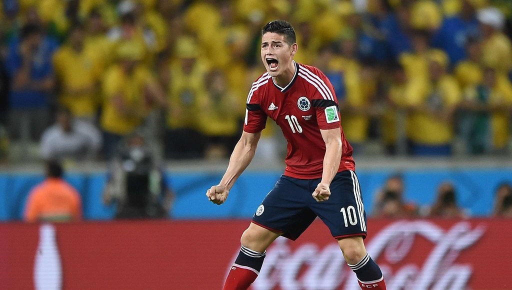 James Rodriguez Colombia 2
