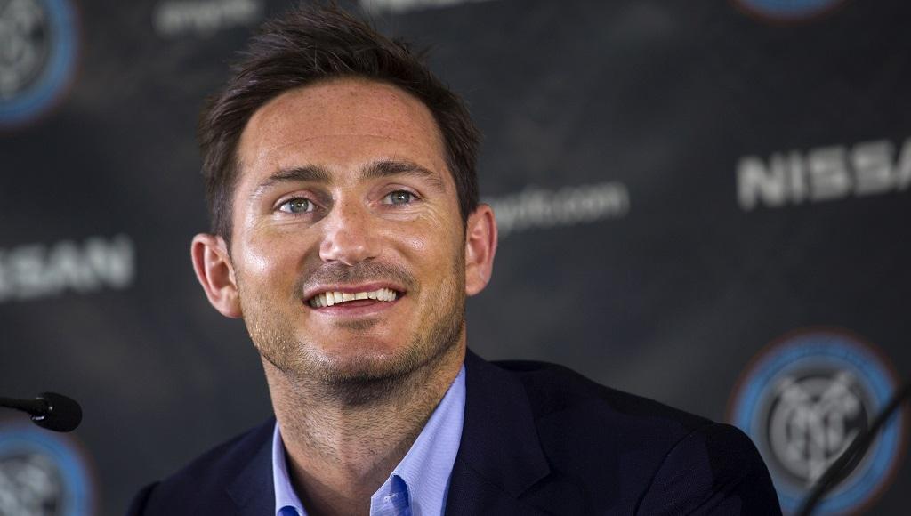 Frank Lampard NY City rueda de prensa