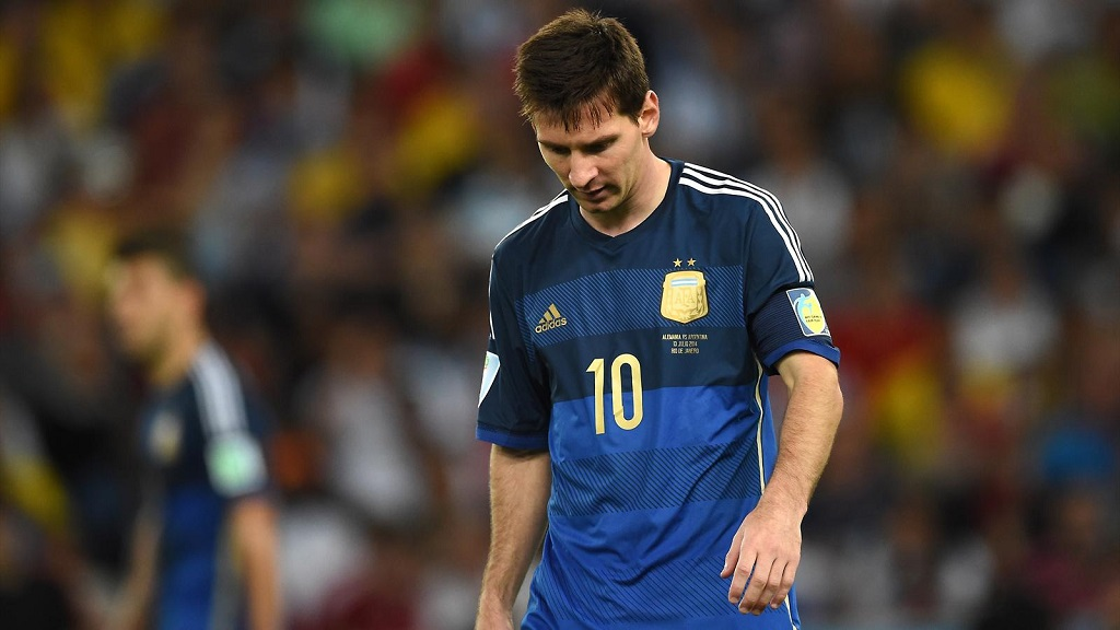 Leo Messi balon de oro Mundial