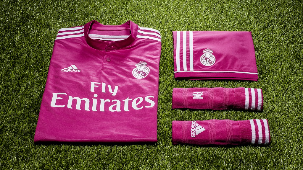 Madrid camiseta fuscia