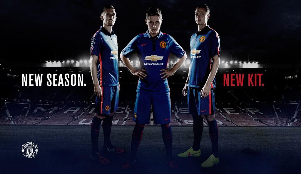 Manchester United tercera equipacion 2014-2015