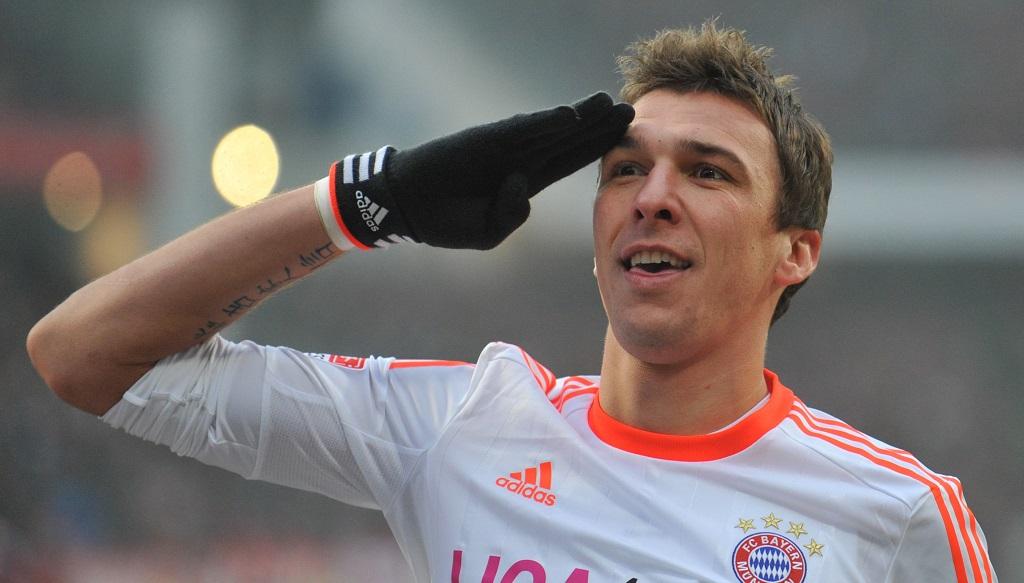 Mandzukic celebrando un gol