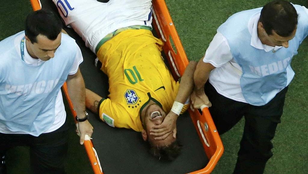 Neymar llorando