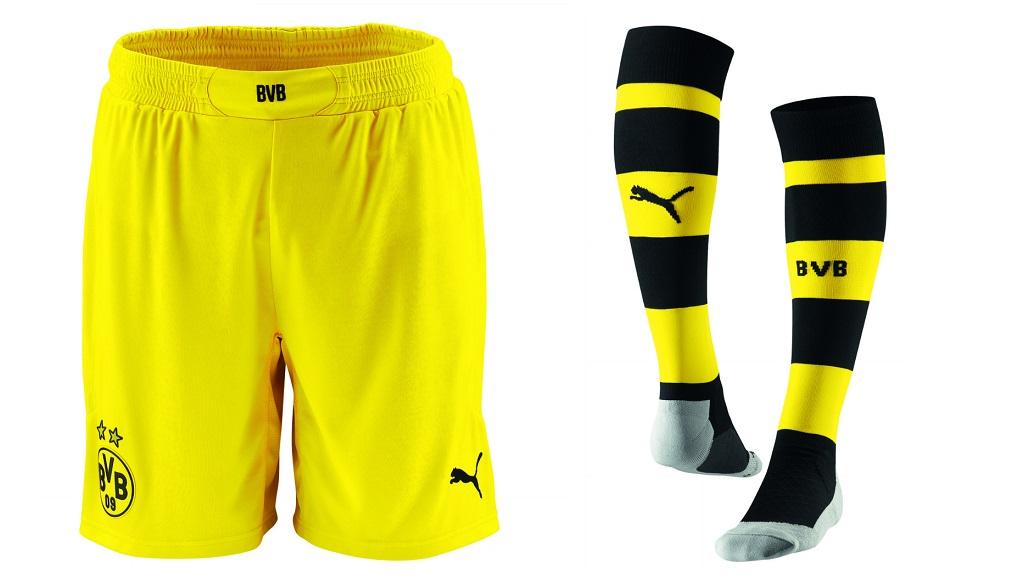 Pantalones y medias Borussia Dortmund 2014-2015