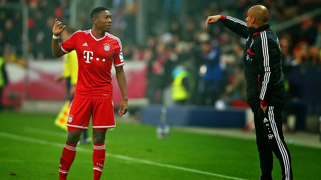 Pep Guardiola Alaba