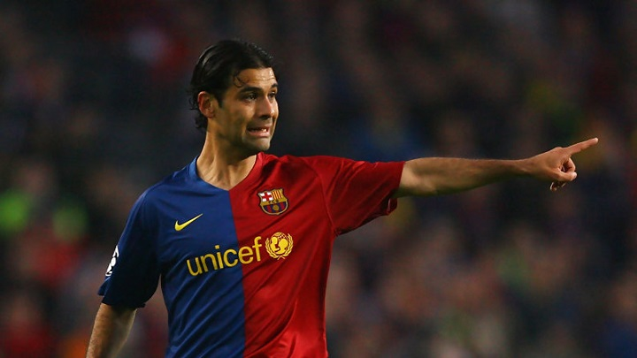 Rafa Marquez camiseta FC Barcelona
