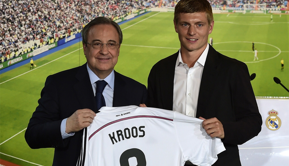 Toni Kroos Real Madrid 7