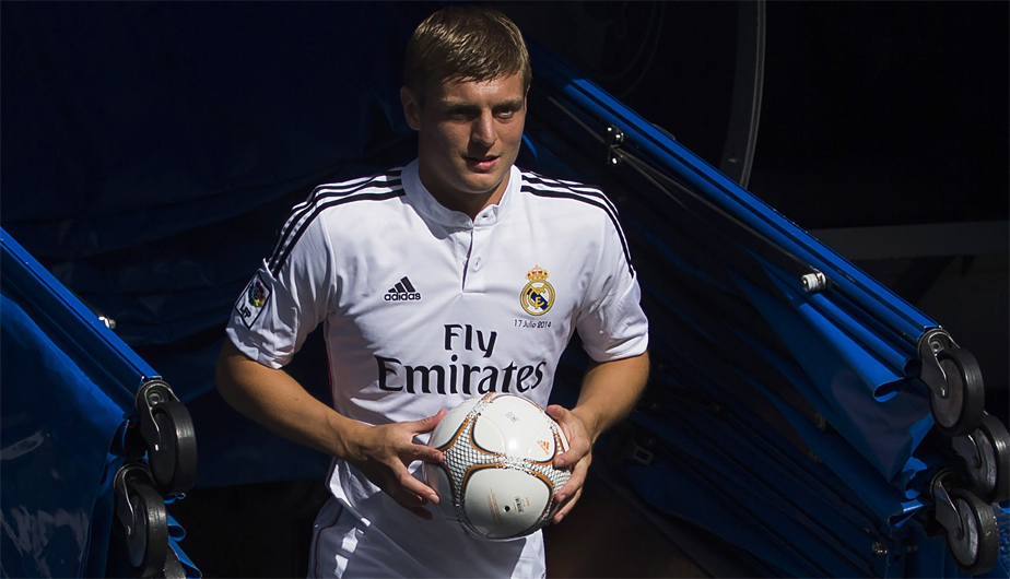 Toni Kroos Real Madrid