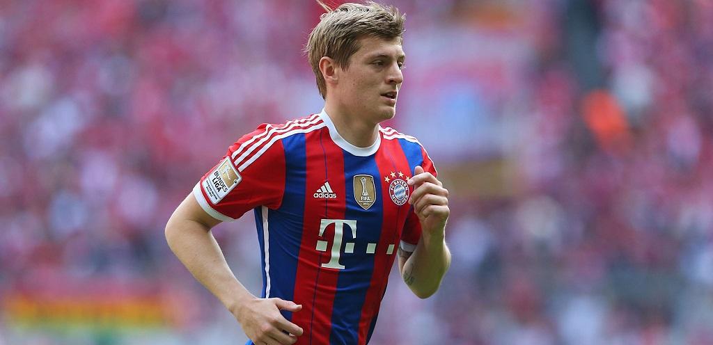 Toni Kroos camiseta Bayern