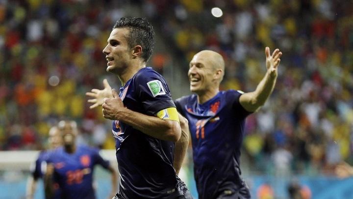 Van Persie y Robben
