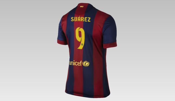 camiseta Luis Suarez FC Barcelona
