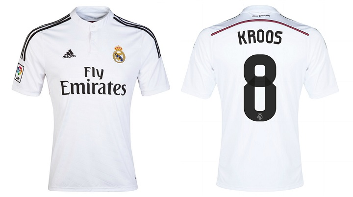 camiseta Real Madrid Toni Kroos