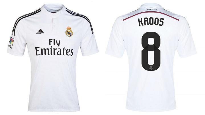 camiseta Real Madrid Toni Kroos